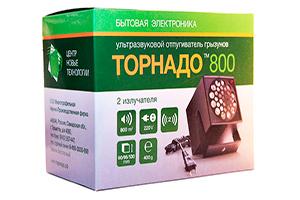 Упаковка отпугивателя грызунов Торнадо 800