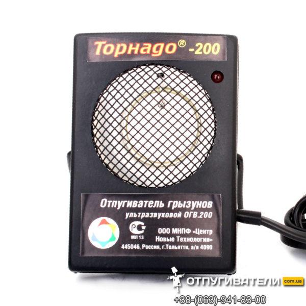 Ультразвуковой отпугиватель грызунов Торнадо-200