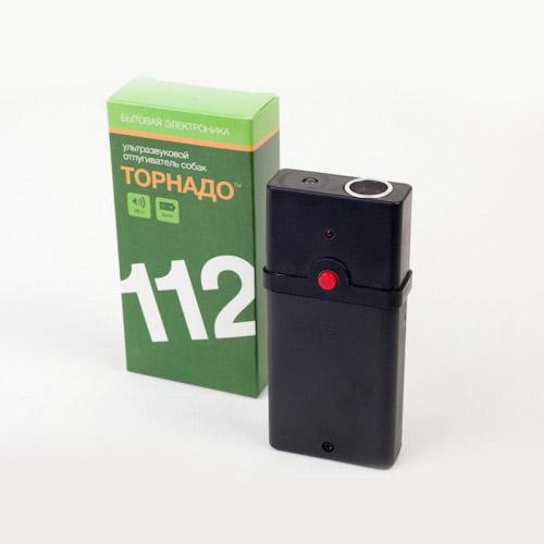 Ультразвуковой отпугиватель собак Торнадо 112 с коробкой