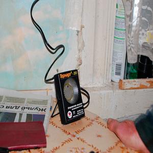 Применение ультразвукового отпугивателя грызунов Торнадо 200