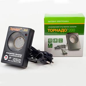 Упаковка ультразвукового отпугивателя грызунов Торнадо 200