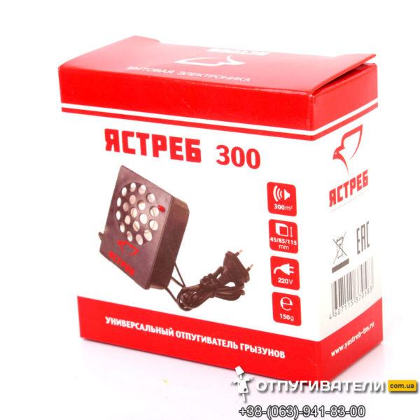 Упаковка ультразвукового отпугивателя Ястреб-300