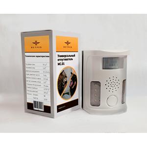 Упаковка стационарного отпугивателя кошек и собак Ястреб МС.01