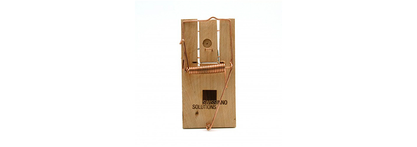 Крисоловка дерев'яна Wood Rat Trap від SWISSINNO