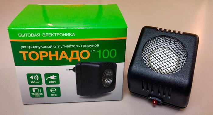 Відлякувач гризунів Торнадо 100