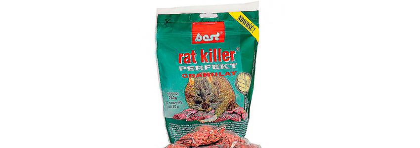 Отрута для гризунів Best з муміфікуючим ефектом (Порційні пакетики 12 шт, 240 гр)