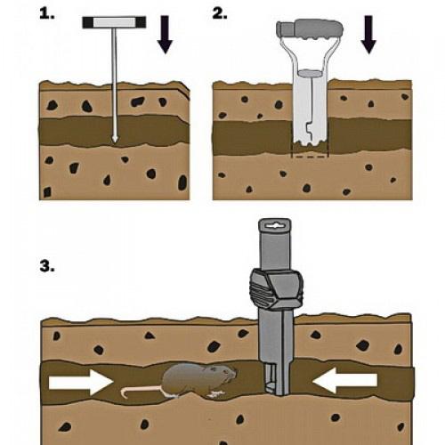 Инструкция по применению Supercat Vole Trap