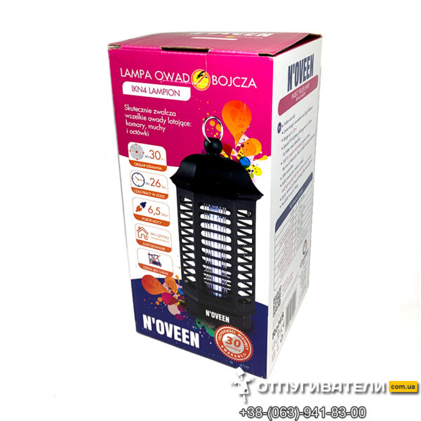 Светильник от комаров Noveen IKN-4 упаковка