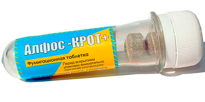 Алфос Крот - опасные для здоровья человека таблетки