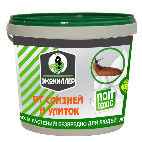 Инсектицидное средство Экокиллер от слизней и улиток, 1л