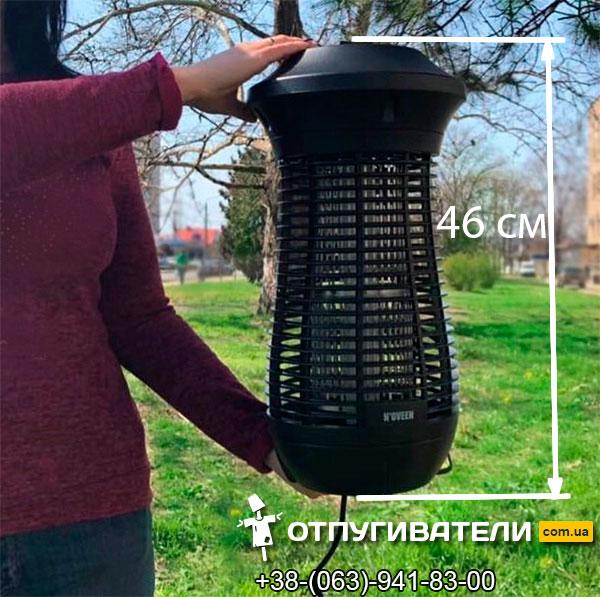 Размеры лампы от комаров и других насекомых Noveen IKN24