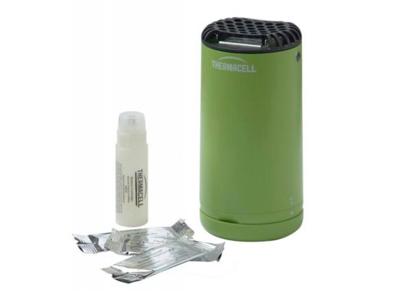 Комплектация противомоскитной лампы Thermacell Halo Mini Repeller