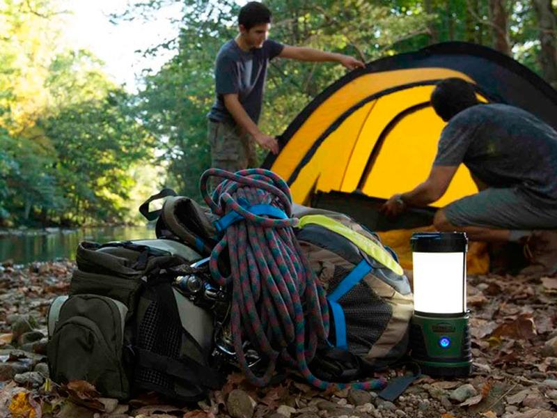 Процесс работы лампы противомоскитной ThermaCELL Trailblazer Camp Lantern MR KA