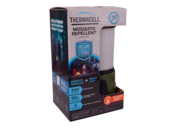 Лампа противомоскитная ThermaCELL Trailblazer Camp Lantern MR KA в упаковке