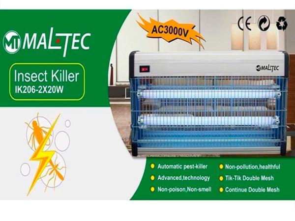 Уничтожитель насекомых Maltec EGO-02-40W в коробке