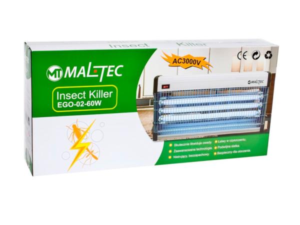 Уничтожитель насекомых Maltec EGO-02-60W в коробке