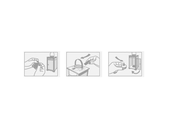 Схема применения отпугивателя комаров Mosquito Stop Lantern