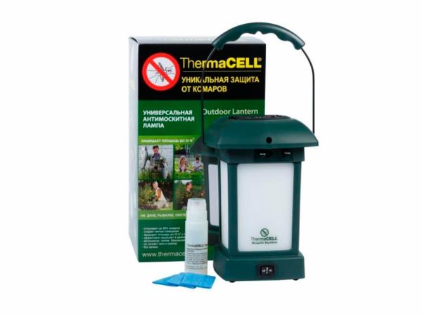 Комплектация отпугивателя комаров для улицы ThermaCELL Outdoor Lantern MR 9L6-00