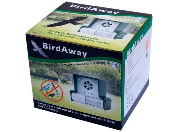 Ультразвуковой отпугиватель птиц Bird Away LS-987BF в коробке