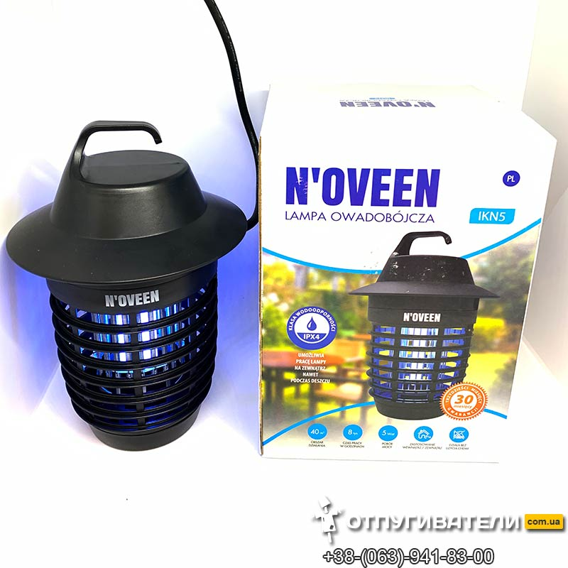 Ловушка электрическая от комаров для улицы до 40 м2 Noveen IKN-5