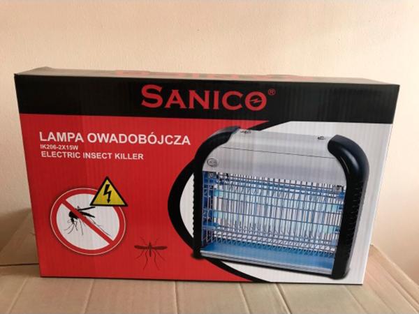 Уничтожитель насекомых SANICO IK 204-12BKS в коробке