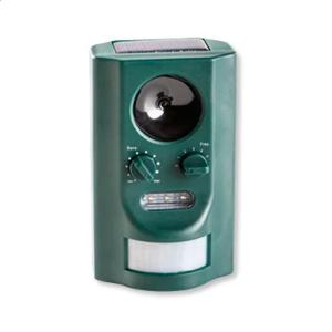 Ультразвуковой отпугиватель животных SO-745 на солнечной батарее с выбором частоты