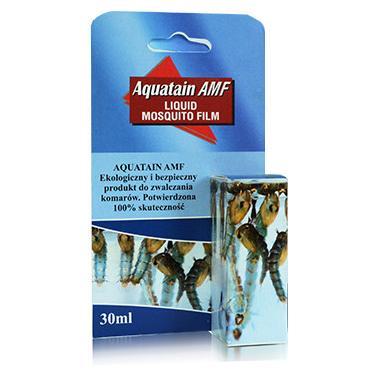 Био-препарат для борьбы с личинками комаров в водоемах Aquatain AMF
