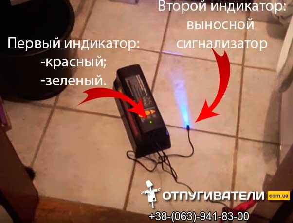 Электро мышеловка индикаторы работы