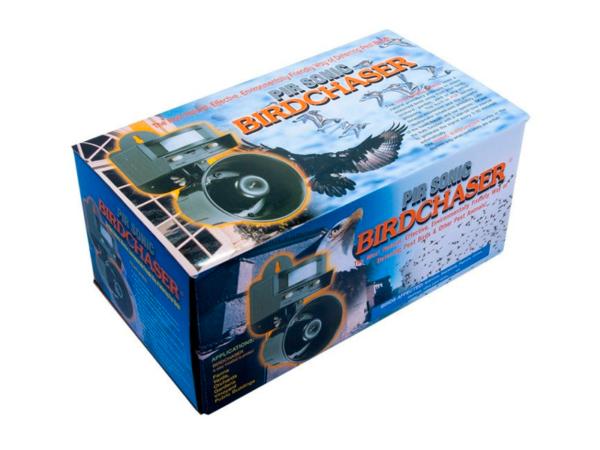 Отпугиватель птиц звуковой LS-2001 в коробке