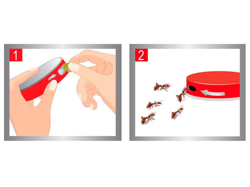 Инструкция по применению органической приманки от муравьев Ameisen
