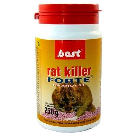 Отрава для грызунов Best Forte с мумифицирующим эффектом (туба 250 г)