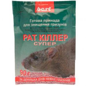 Отрава для грызунов Best с мумифицирующим эффектом (саше 90 г)