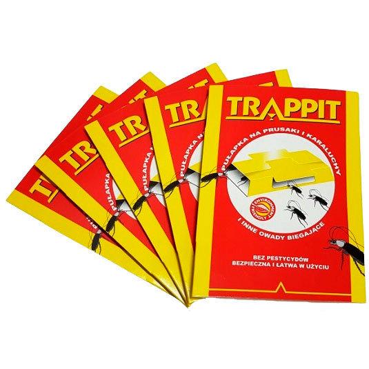Ловушки для тараканов Trappit (5 штук)