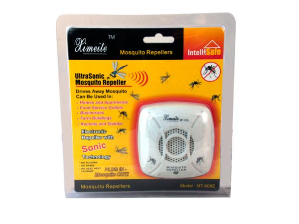 Ультразвуковой отпугиватель комаров Ximeite МТ-606E в упаковке