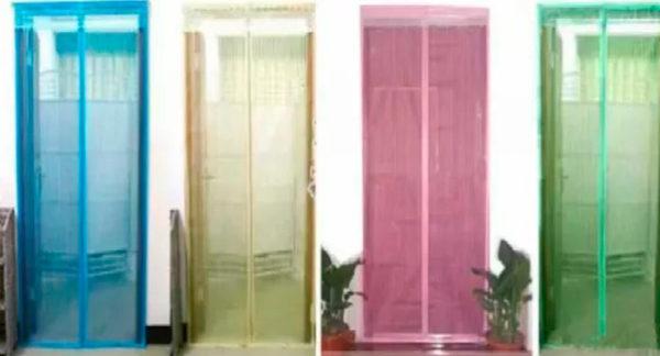 Дверная антимоскитная сетка на магнитах (100*210 см)