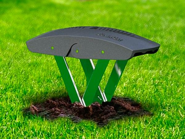 Ловушка Mole Trap в рабочем состоянии