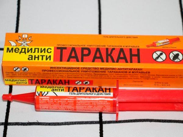Инсектицидное средство от тараканов «Медилис-АНТИТАРАКАН»