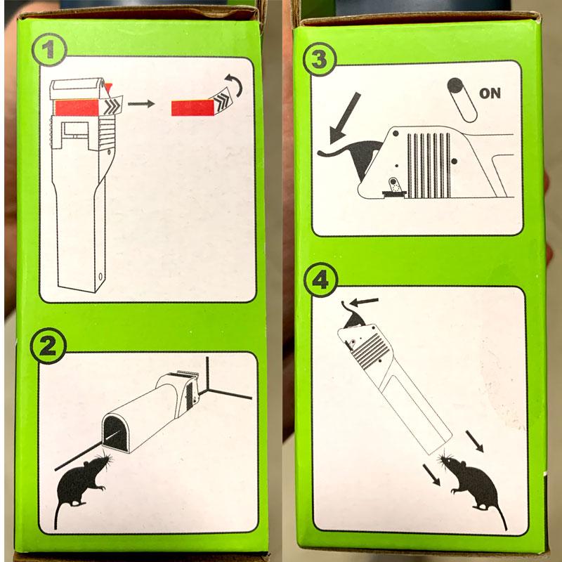 Инструкция по применению мышеловки