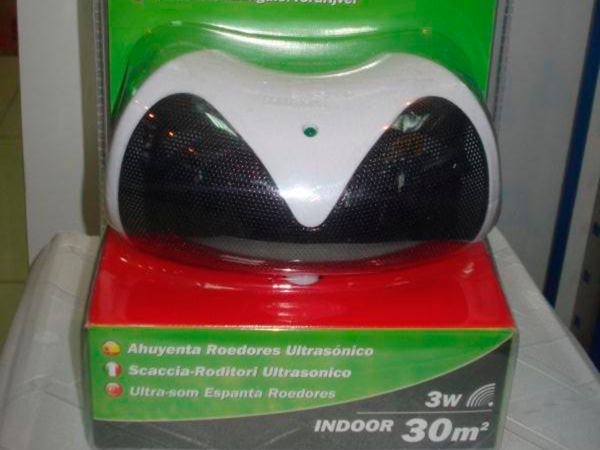 Ультразвуковой отпугиватель животных Ultrasonic Rodent Repeller от SWISSINNO