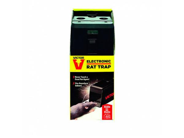 Электронная крысоловка Victor Electronic Rat Trap M241 в упаковке
