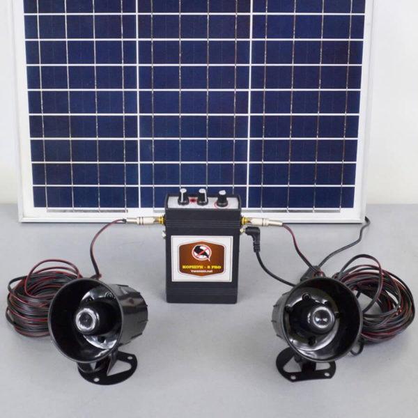 Отпугиватель птиц на солнечной батарее «Коршун-8 SOLAR»