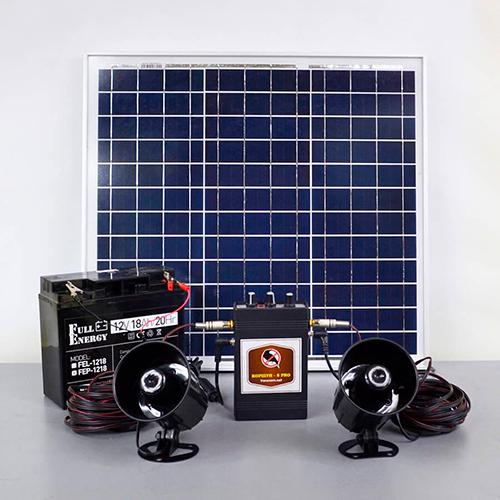 Отпугиватель птиц на солнечной батарее «Коршун-8 SOLAR» (с аккумулятором)