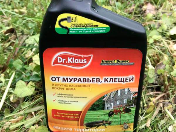 Эжектор (концентрат) Dr. Klaus Insect Super (1л)