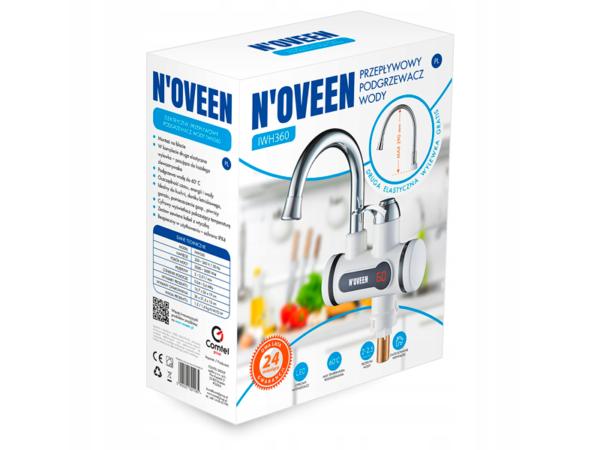 Проточный водонагреватель Noveen IWH360 в коробке