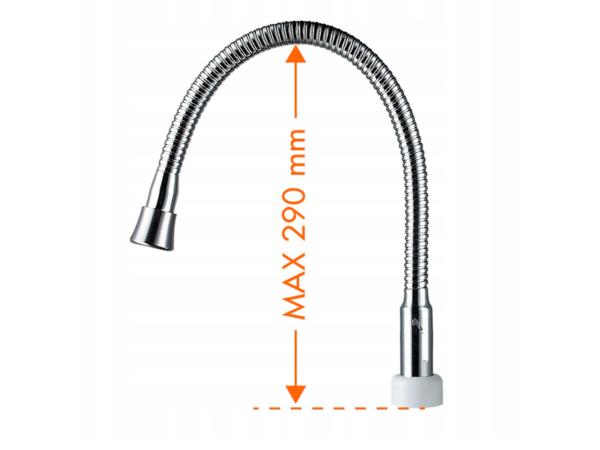 Высота излива проточного водонагревателя Noveen IWH360
