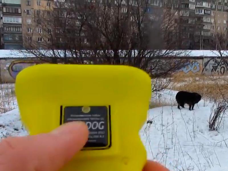 """Применение отпугивателя собак """"Чистон-11 АнтиДОГ"""""""