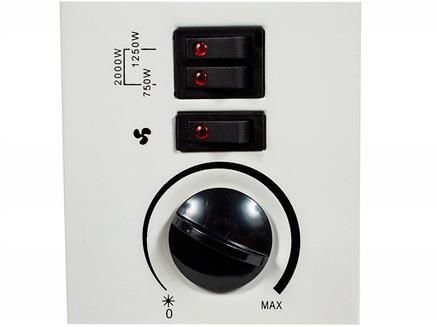 Панель управления конвекторного обогревателя Maltec CH2500DW 2000 Вт