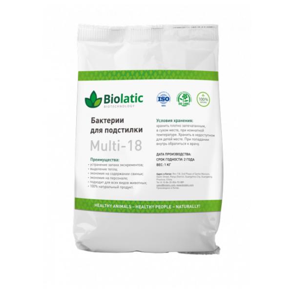 Бактерии для подстилки Biolatic Multi-18