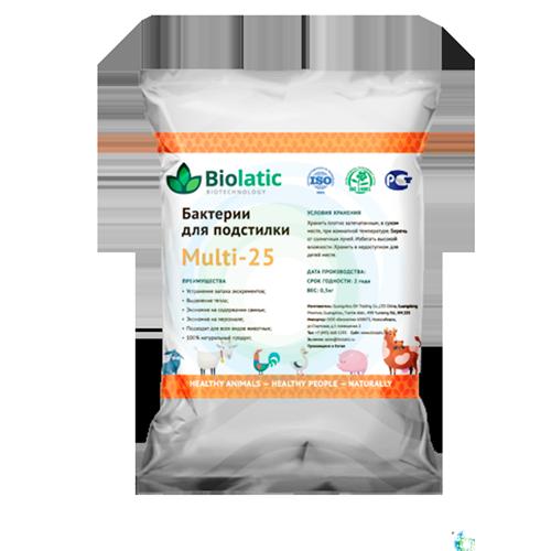 Бактерии для подстилки Biolatic Multi-25