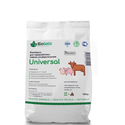 Бактерии для переработки навоза и помета Biolatic–Universal